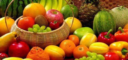 frutas verduras e legumes